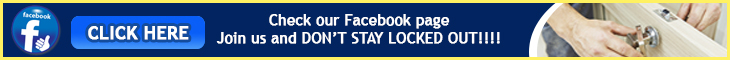 Join us on Facebook - Locksmith Lakeside